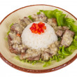 Rice and pork japanese style — Stock Photo #15568255