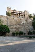 Almudaina of Palma de Mallorca in Majorca Balearic island — Stock Photo