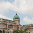 Historic Royal Palace in Budapest - Stock Photo