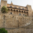 Almudaina  of Palma de Mallorca in Majorca Balearic island - Stock Photo