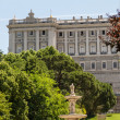 Royal Palace at Madrid Spain - architecture background - Stock Photo