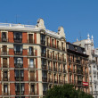 Street View in Madrid — Stock Photo