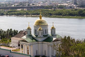 Annunciation Monastery in Nizhny Novgorod, Russia — Stockfoto