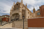Cathedral of the Jeronimos, Madrid, Spain — Stock Photo