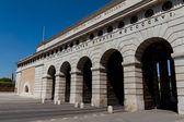 Heldentor de vienne - entrée de la hofburg et heldenplatz, autriche — Photo