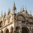 Stock Photo: Saint Marks Basilica, Cathedral, Church Statues Mosaics Details