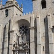 Panoramic view of the Porto Cathedral - Stock Photo