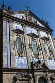 Portekiz porto santo ettiler barok kilisesi — Stok fotoğraf