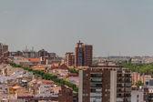 Urbana landskap, madrid, — Stockfoto