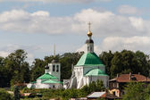 The church and view of Vladimir, Russia — Stockfoto