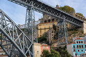 Bridge, Porto, River, Portugal — Stock Photo