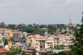 Voyager série - italie. découvre au-dessus du centre de rome, italie. — Photo