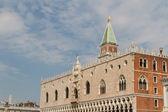 Doge's Palace, Saint Marks Square, Venice, Italy — Stock Photo