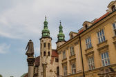 Romanesque church of St Andrew tower in Krakow built between 1079 - 1098 — Stock Photo