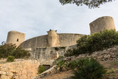 Bellver castle castillo kuleye Mayorka, palma de mallorca ba — Stok fotoğraf