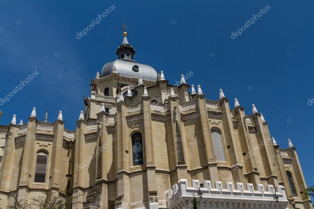 Cathedral of Madrid, Spain — Stock Photo #15580421