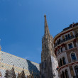 St. Stephan cathedral in center of Vienna, Austria — Stock Photo #15590269