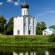 Stock Photo: Church of the Intercession on the River Nerl