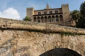 Almudaina of Palma de Mallorca — Stock Photo