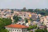 Travel Series - Italy. View above downtown of Rome, Italy. — Stock fotografie