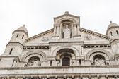 L'architettura esterna del sacro cuore di montmartre, parigi, fra — Foto Stock