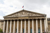 Assemblee Nationale (Palais Bourbon) - the French Parliament. — Stock Photo