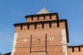 Kremlin wall at Nizhny Novgorod — Stock Photo