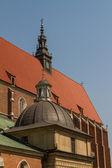 Cracovia - corpus christi iglesia fue fundada por kasimirus iii el — Foto de Stock