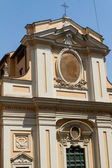 Great church in center of Rome, Italy. — Stock Photo