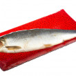 Salted herring — Stock Photo #16300311