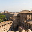Buildings in Vatican, the Holy See within Rome, Italy. Part of S - Foto Stock