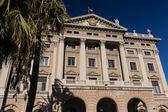 Budynek rządu wojskowych. barcelona, katalonia, s — Zdjęcie stockowe