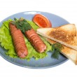 Stock Photo: Sausages