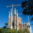 BARCELONA SPAIN - OCTOBER 28: La Sagrada Familia - the impressiv - Foto Stock