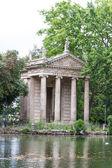 Villa borgheses trädgård, rom, italien — Stockfoto