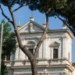 Great church in center of Rome, Italy. - 图库照片