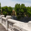 Rome bridges - Stockfoto