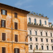 Rome, Italy. Typical architectural details of the old city - Stockfoto