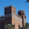 Barcelona Ciudadela Three Dragon Castle by Domenech i Montaner a - Stockfoto