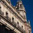 Buildings' facades of great architectural interest in the city o — Foto de Stock