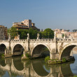 Rome bridges - Foto Stock