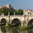Rome bridges — Stock Photo #18796015