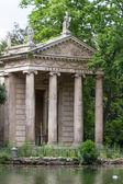 Villa borghese ogród, Rzym, Włochy — Zdjęcie stockowe