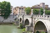 Rome bridges — Stock Photo