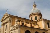 Great church in center of Rome, Italy. — Stockfoto