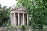 Villa Borghese Garden, Rome, Italy — Stock Photo