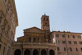 St. Maria in trastevere, Rome, italy — 图库照片