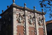 Barcelona - Parliament of autonomous Catalonia. Architecture lan — Stock fotografie