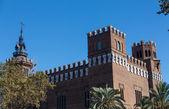 Barcelona Ciudadela Three Dragon Castle by Domenech i Montaner a — Stock fotografie