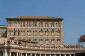 Buildings in Vatican, the Holy See within Rome, Italy. Part of S — Stock Photo